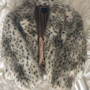 Express Faux fur coat
